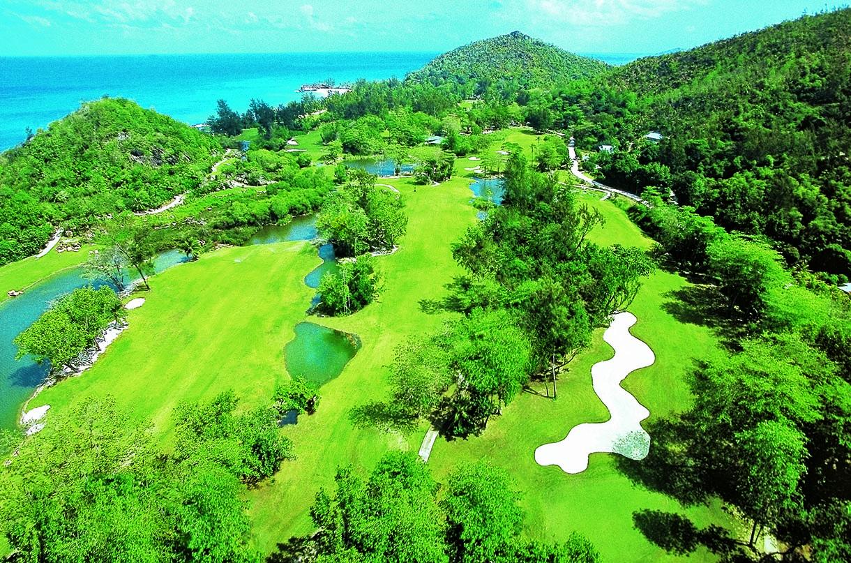 Golf Dreams Seychellen Lemuria Panorama