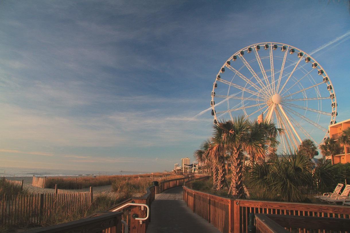 Golf Dreams 17 South Carolina Skywheel c SCPRT