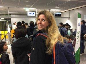 Foto Abflug mit ANA nach Frankfurt